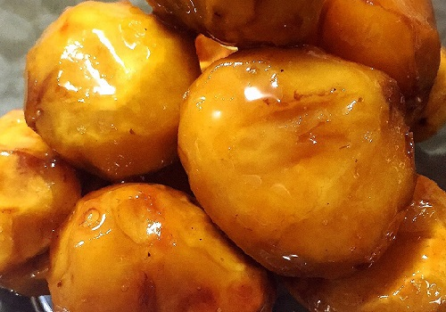 栗のバター煮