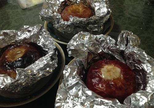 焼きリンゴの作り方